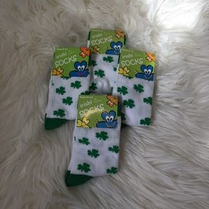 Other - 4 pairs of kids St Patty's socks. NWT